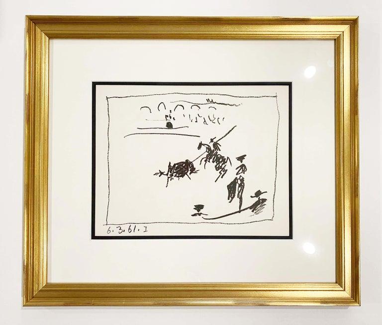 Pablo Picasso Figurative Print - La Pique (I)