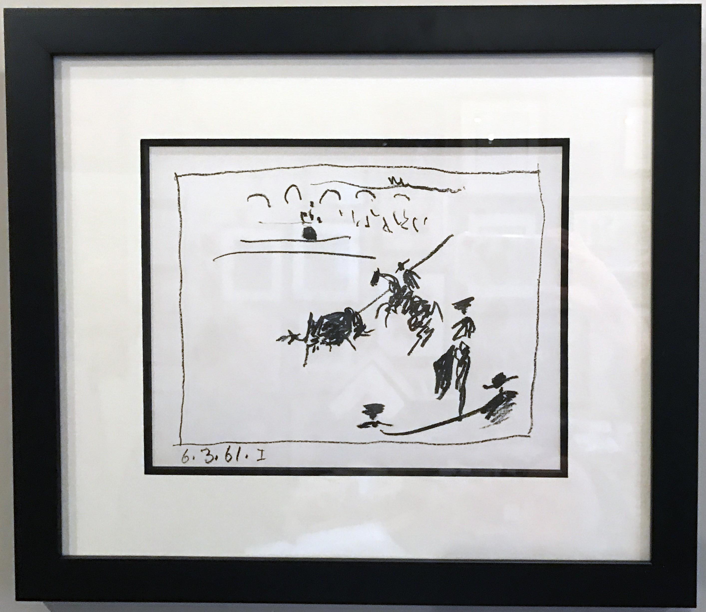 La Pique (I), from A Los Toros Avec Picasso