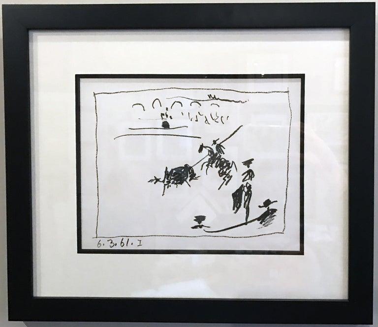 Pablo Picasso Animal Print - La Pique (I), from A Los Toros Avec Picasso