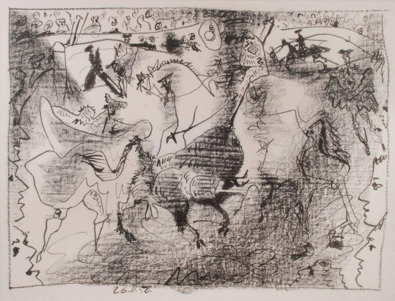 Pablo Picasso Abstract Print - La Pique (The Pike)