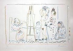 L'Atelier du vieux peintre