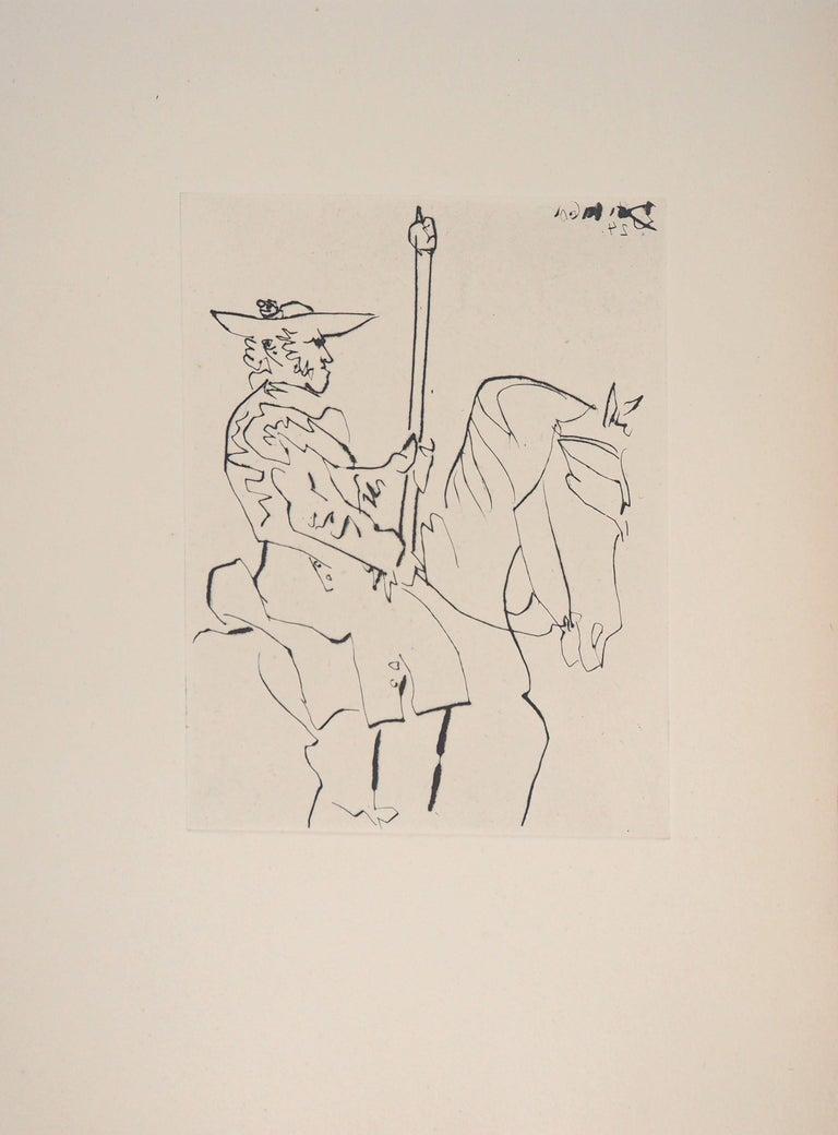 Le Carmen Des Carmen, 1960 - Original etching - Print by Pablo Picasso