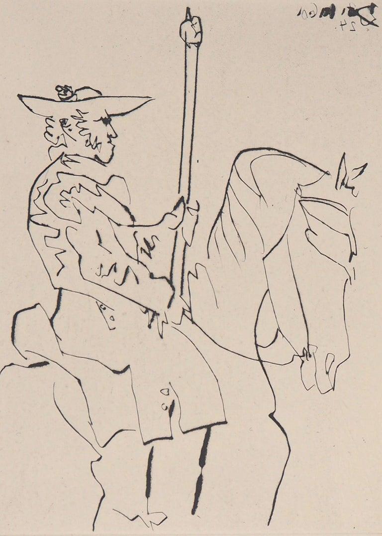 Le Carmen Des Carmen, 1960 - Original etching - Modern Print by Pablo Picasso