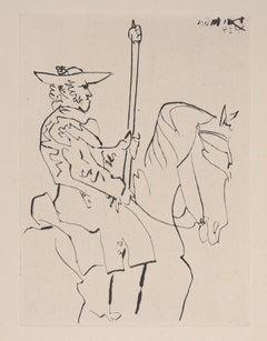 Le Carmen Des Carmen, 1960 - Original etching