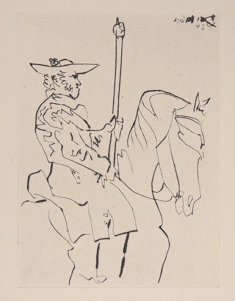 Pablo Picasso Figurative Print - Le Carmen Des Carmen, 1960 - Original etching