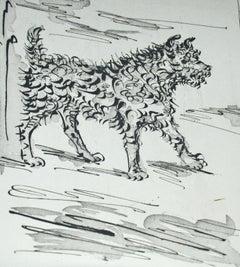 Pablo Picasso: Le Chien (The Dog) Bloch 334