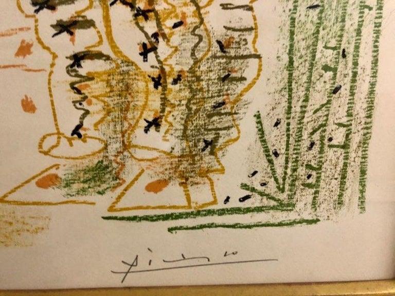 Le Peintre et Son Modele - Print by Pablo Picasso