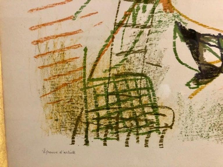 Le Peintre et Son Modele - Modern Print by Pablo Picasso