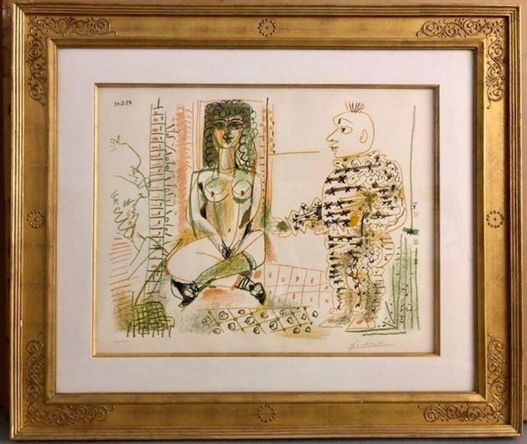 Pablo Picasso Figurative Print - Le Peintre et Son Modele