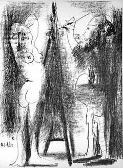 Le Peintre et Son Modèle, Pablo Picasso