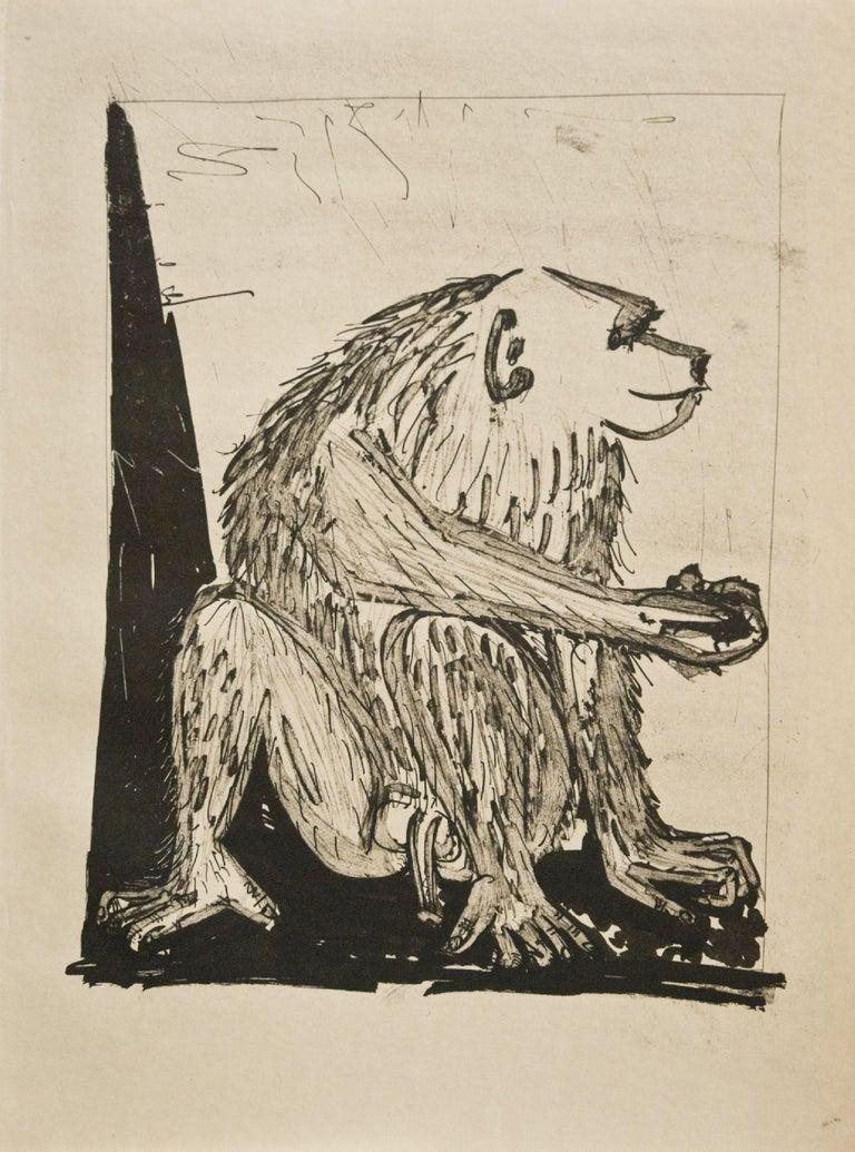 Pablo Picasso Animal Print - Le Singe (The Monkey) (Bloch 339)