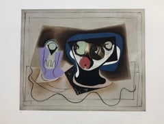 Le verre d' Absinthe-Contemporary, Abstract, cubisme, Modern, Pop art,