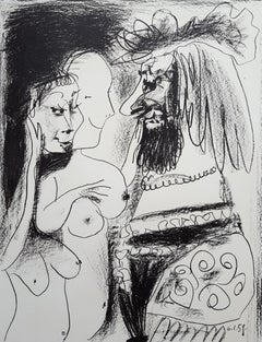 Le Vieux Roi (The Old King) - signed in blue crayon, ed. 200