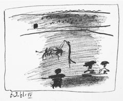 Les Banderillas, Pablo Picasso