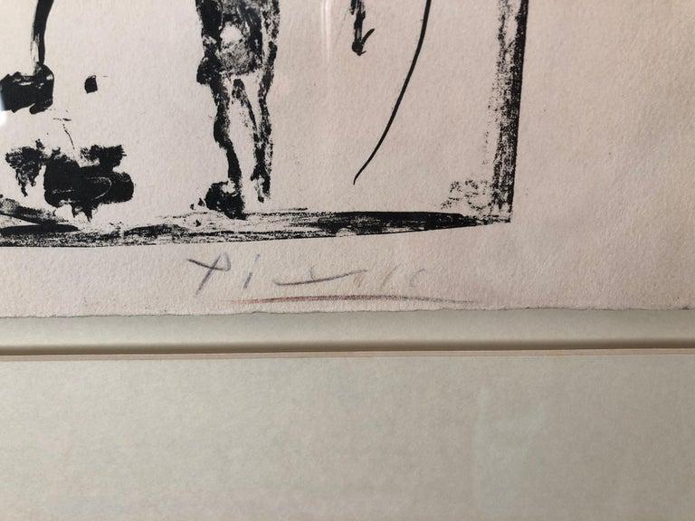 Pablo Picasso, Les Banderilles - Surrealist Print by Pablo Picasso