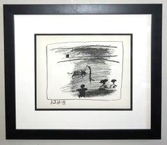 Les Banderilles (IV), from A Los Toros Avec Picasso