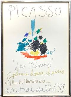 Les Menines Mourlot Exhibition Poster