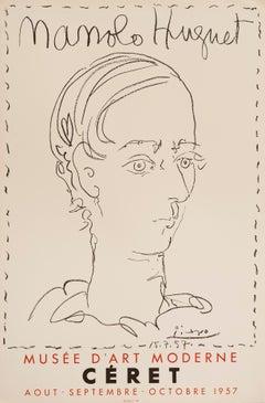 Manolo Huguet - Musée de Céret by Pablo Picasso, 1957