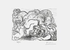 Minotaur Assaulting Girl (The Vollard Suite)