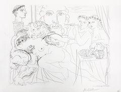 Minotaure caressant une Femme from La Suite Vollard