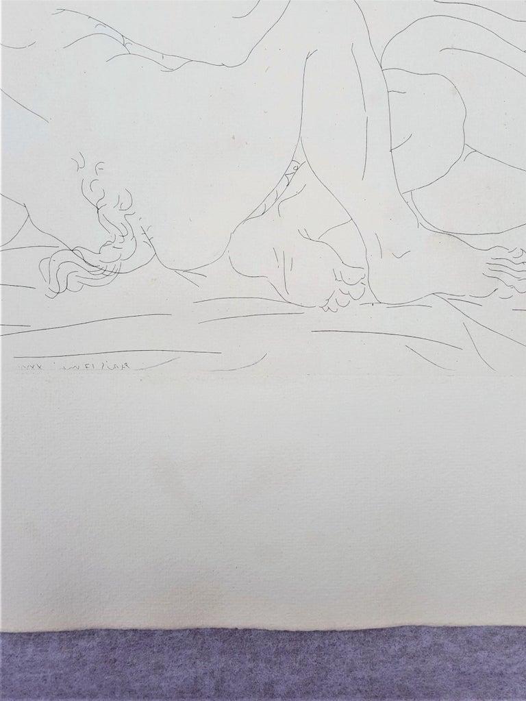 Minotaure, une Coupe à la Main, et Jeune Femme (Minotaur, a Cup in Hand...) For Sale 5