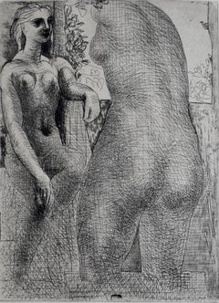 Model and Back of Large Sculpture, from: La Suite Vollard