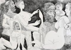 Mythological Scene: Perhaps Agamemnon's Lust for Briseis, from: Series 347