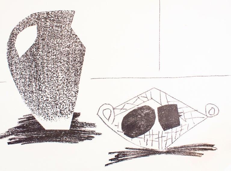 Nature Morte au Pot de Grès - Original Lithograph by Pablo Picasso - 1947  For Sale 2