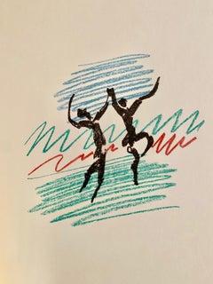 """Pablo Picasso, """"La Danse:, original lithograph"""