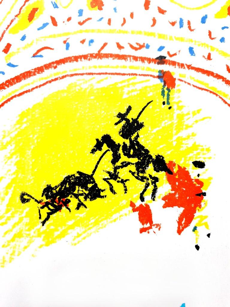 Pablo Picasso - La Petite Corrida - Original Lithograph - Modern Print by Pablo Picasso