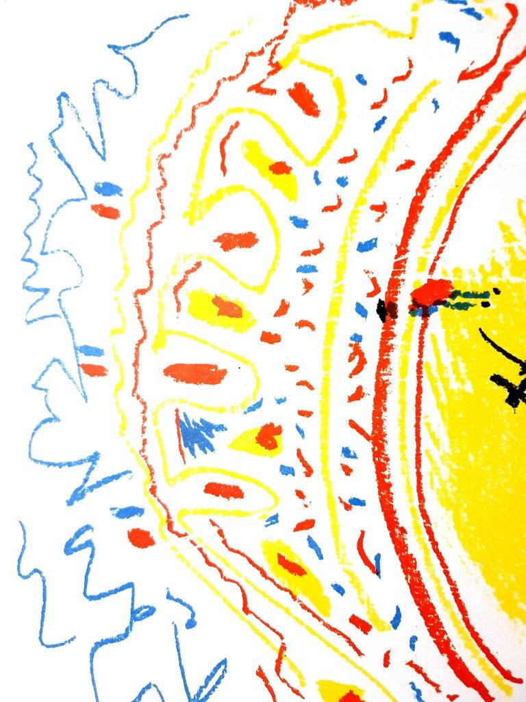 Pablo Picasso - Original Lithograph La Petite Corrida (The Small Bullfight) 1958 Edition of 2000, unsigned Published in the journal XXe Siecle Dimensions: 32 x 25 cm  Edition: G. di San Lazzaro.  Catalogue raisonne: Mourlot 302 Pablo