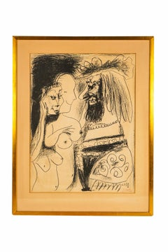 PABLO PICASSO LE VIEUX ROI FROM 1959 IN ORIGINAL LITHOGRAPH