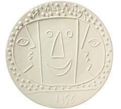 Pablo Picasso Madoura Ceramic Dish - Vallauris Ramié 330