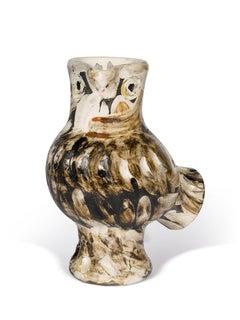 Pablo Picasso Madoura Ceramic Pitcher, 'Chouette', Ramié 604