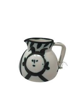 Pablo Picasso Madoura Ceramic Pitcher - Tetes Pitcher, Ramié 221