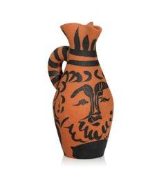 Pablo Picasso Madoura Ceramic Pitcher - Yan Barbu, Ramié 513