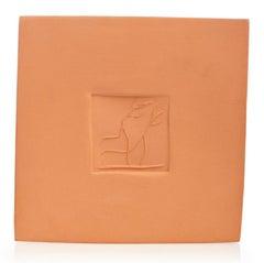 Pablo Picasso Madoura Ceramic Plaque - Carré aux danseurs B  Ramié 615