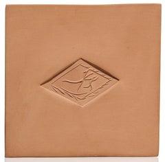 Pablo Picasso Madoura Ceramic Plaque 'Losange à la danse,' Ramié 619