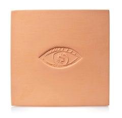 Pablo Picasso Madoura Ceramic Plaque - 'Ovale a l'oleil C,'  Ramié 626