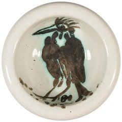 Pablo Picasso Madoura Ceramic Ashtray - Oiseau à la huppe, Ramié 173