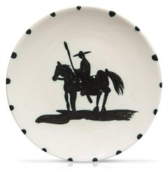 Pablo Picasso Madoura Ceramic Plate - 'Picador' Ramié 160