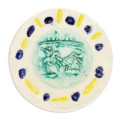 Pablo Picasso Madoura Ceramic Plate - Picador Ramié 202