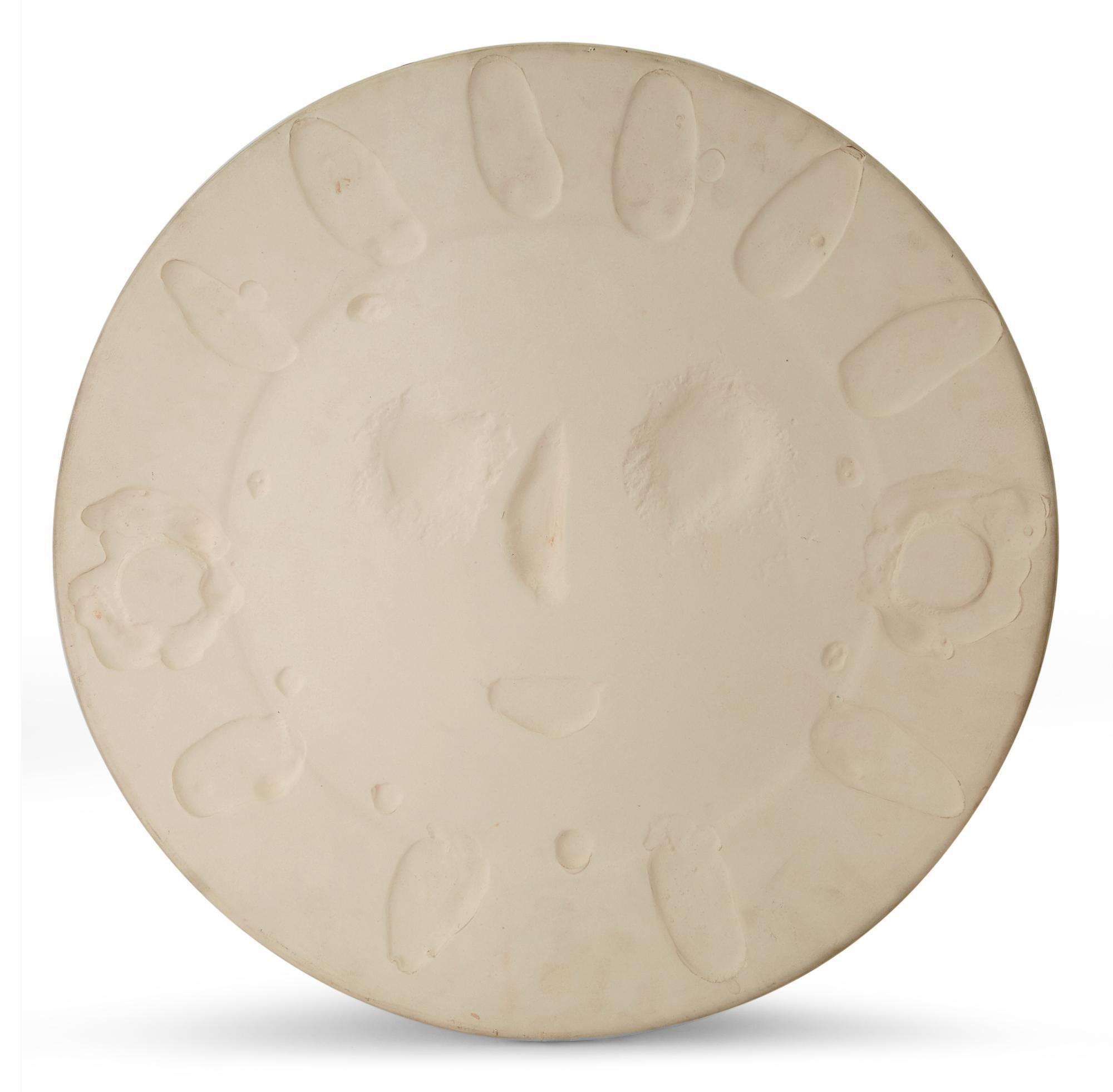 Pablo Picasso Madoura Ceramic Plate 'Visage aux Taches' Ramié 350