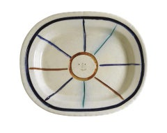 Pablo Picasso Madoura Ceramic Plate-Visage dans étoile. Ramié 30