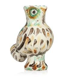 Pablo Picasso Madoura Ceramic Vase-'Chouette,' Ramié 602