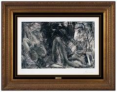 Pablo Picasso Original Etching Etching Nude Female Portrait Hand Signed Cubism