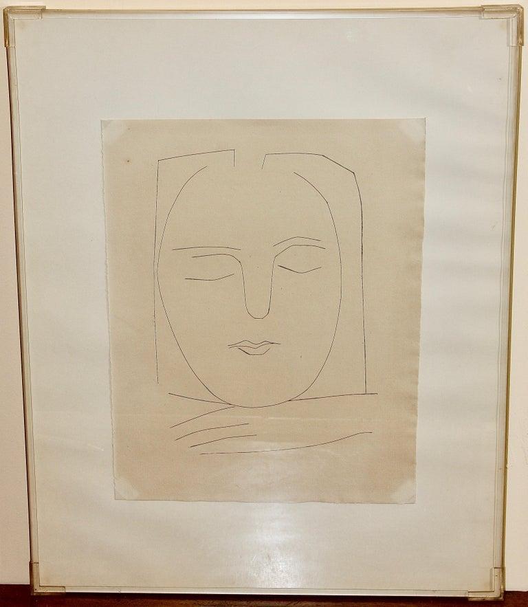 Pablo Picasso, original etching No. 310 from