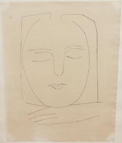 "Pablo Picasso, original etching No. 310 from ""Carmen"" 1949, Block 531-568"