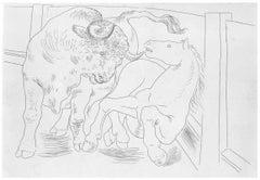 Pablo Picasso: Taureau et Cheval dans l'Arène