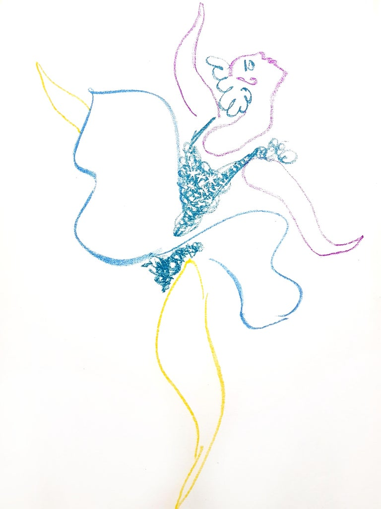 Pablo Picasso - The Ballet Dancer - Original Lithograph - Modern Print by Pablo Picasso